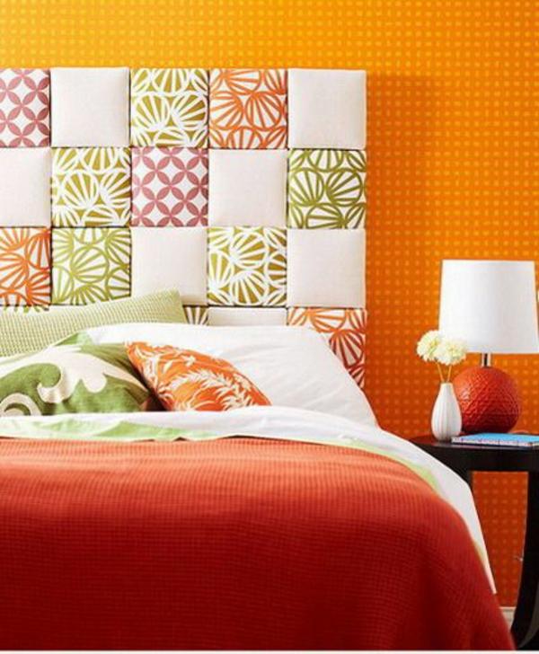 Schlafzimmer gestalten orange ~ Dayoop.com