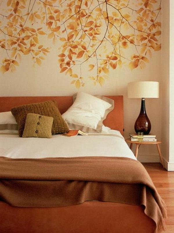 Schlafzimmerwand Gestalten - Kreative Dekoideen