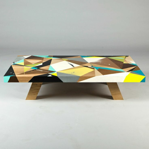 design couchtisch geometrische figuren