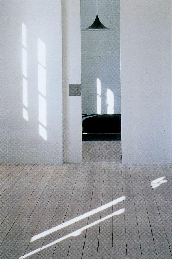 design ideen innentüren weiß schiebetüren
