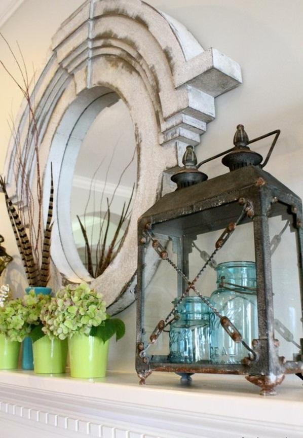 designer modell spiegel rustikal