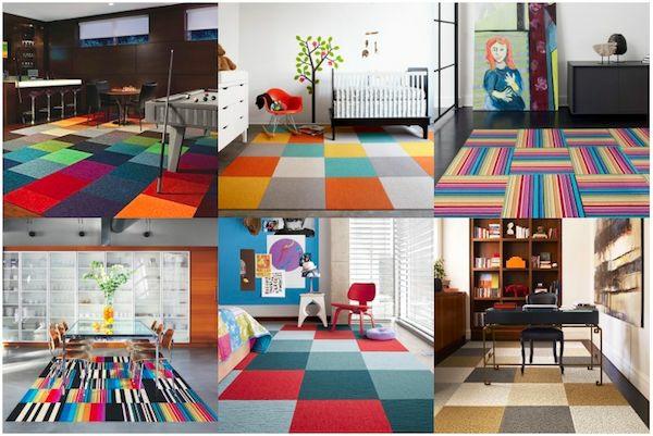 Teppich design bunt  30 Designer Teppiche - moderne Traumteppiche