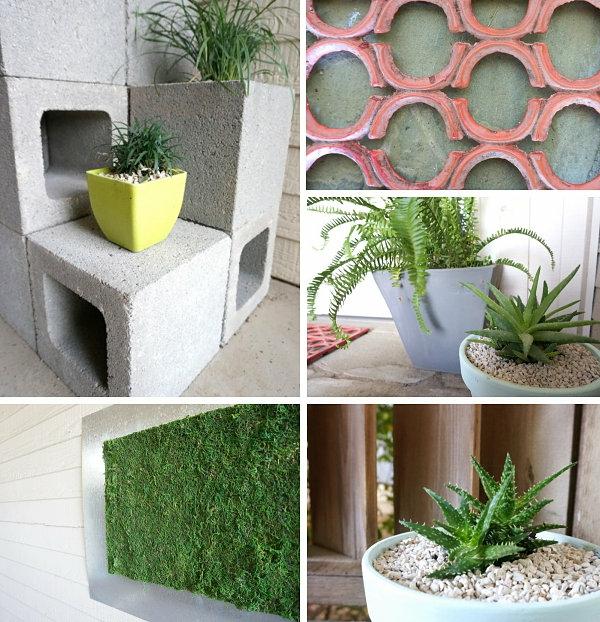 details betonstein erzeugnisse betonblocke pflanzen