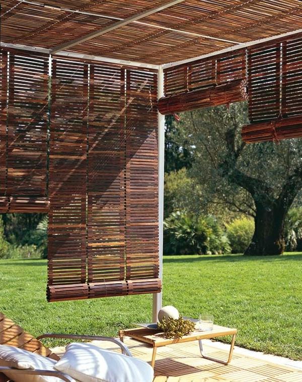 Shade For Sunny Backyard : Garten Designideen ? Pergola selber bauen