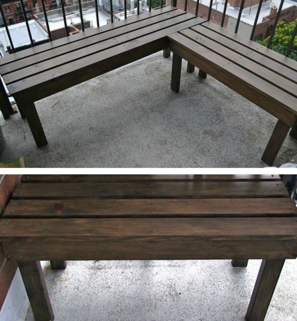 Garden Wooden Bench Diy