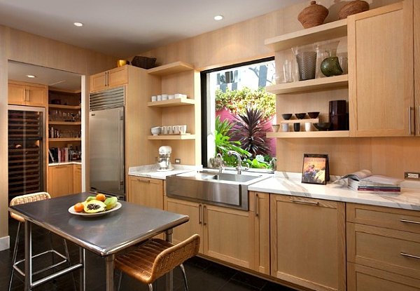 Edelstahl küche   verschönern sie ihre kücheninsel