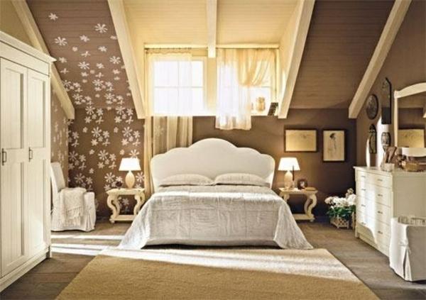 Kleines Schlafzimmer Neu Gestalten : einrichtungsideen jugendzimmer dachschräge bett dekoration schrank