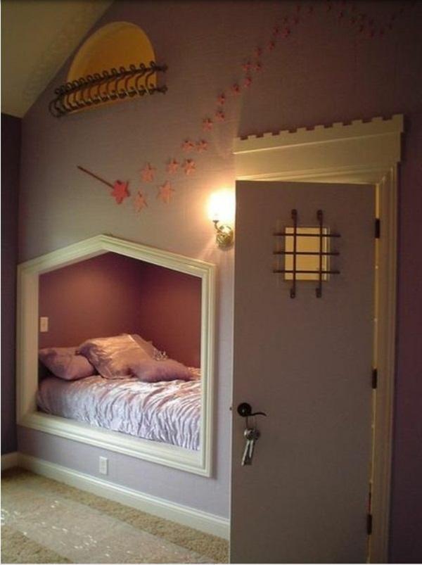 20 komfortable jugendzimmer mit dachschräge gestalten - Kleine Schlafzimmer Mit Schragen