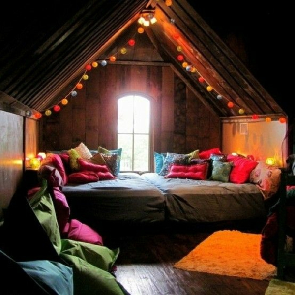 20 Komfortable Jugendzimmer Mit Dachschrage Gestalten