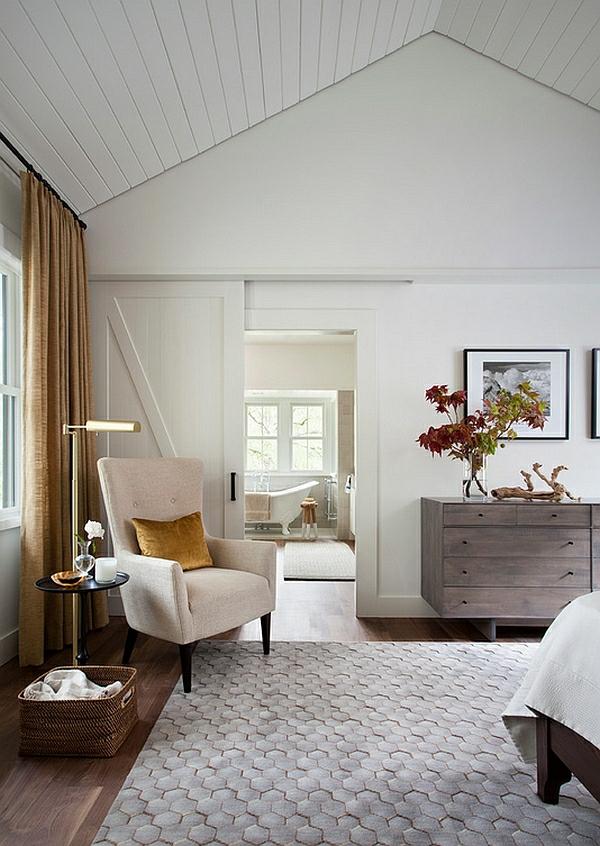 einrichtungsideen landhaus schlafzimmer dachschräge