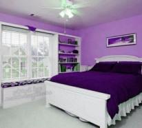 lila zimmer erscheinen als eyecatcher im haus - Schlafzimmer Weis Violett