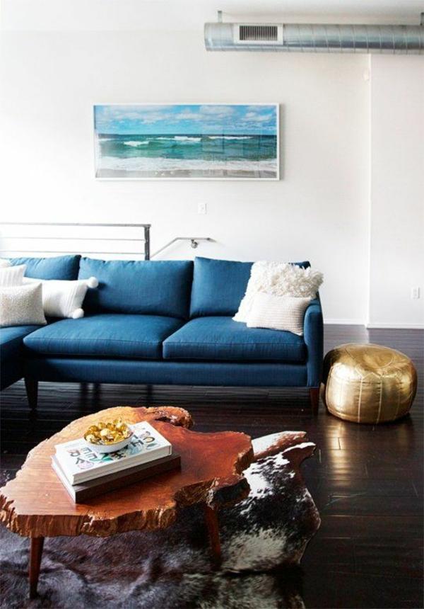 einrichtungsideen sofa designer couchtische