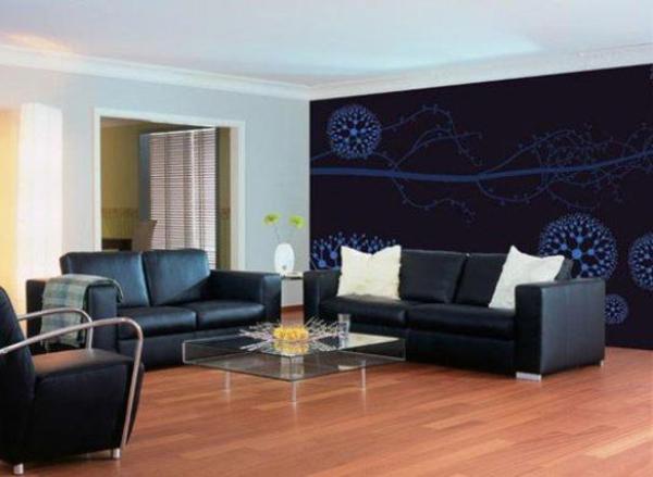 Wohnzimmer einrichten tapeten  Wohnzimmertapete aussuchen - auf der Suche nach neuen Ideen