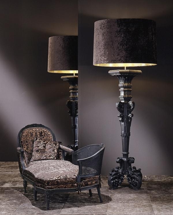 lampen und leuchten berdimensionierte boden und. Black Bedroom Furniture Sets. Home Design Ideas