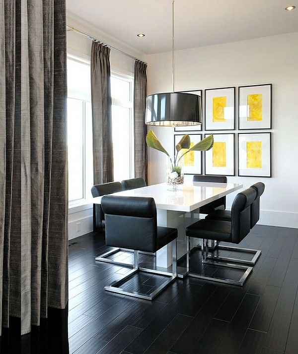 esszimmer ideen im minimalistischen stil möbel wanddeko