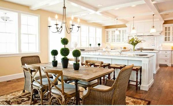Wohnzimmer Kuche Zusammen Bigschool