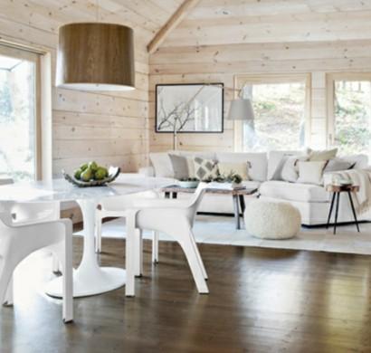 Esszimmermöbel weiß modern  Esszimmergestaltung - Bilder von Esszimmer im Landhausstil
