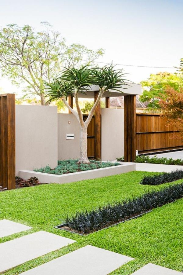 Wie kann man seine vorgartengestaltung modern kreieren for Vorgarten minimalistisch