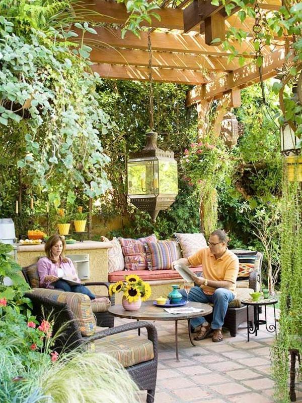 Chestha.com | Decke Idee Terrasse 28 Ideen Fur Terrassengestaltung Dach