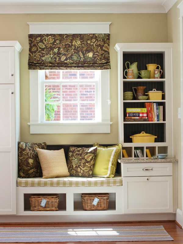 Tolle fensterbank ideen f r mehr komfort und entspannung for Kitchen drop zone ideas
