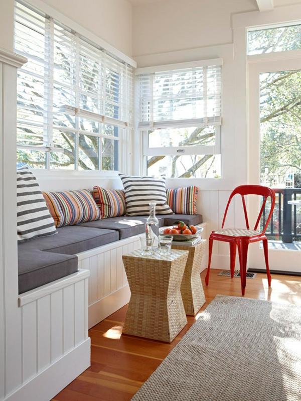 Fensterbank Ideen Wohnzimmer Einrichtungsideen