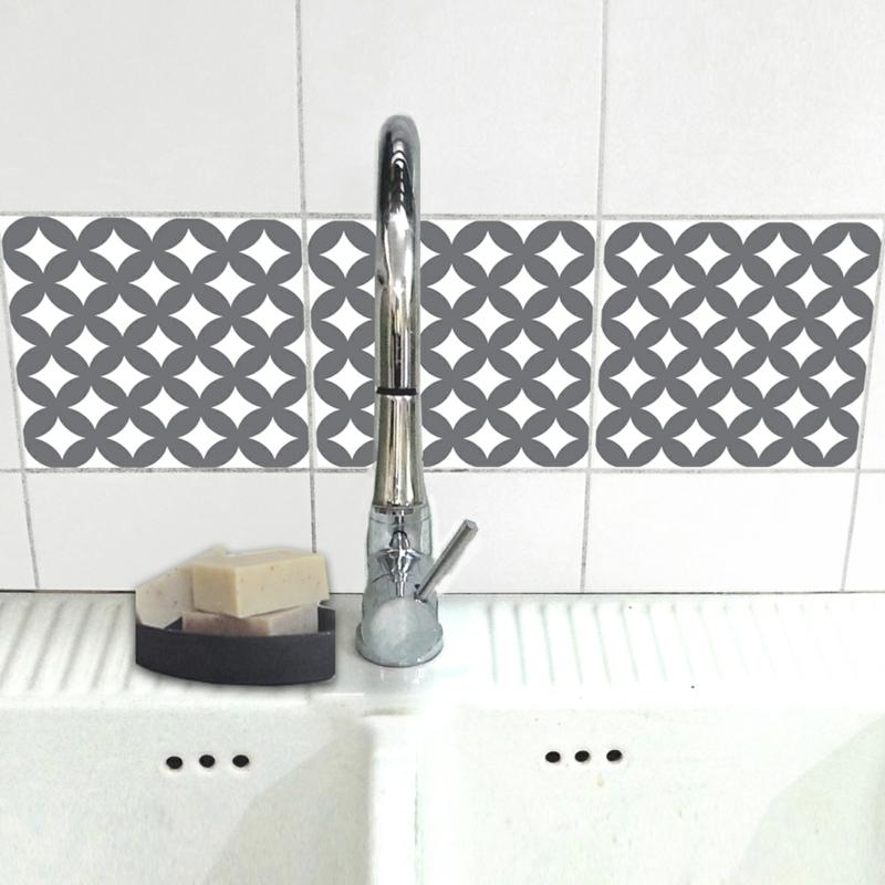 fliesensticker bad küche fliesen bekleben fliesenmuster WA414-12b