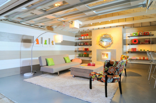 Garage Room Decorating Ideas