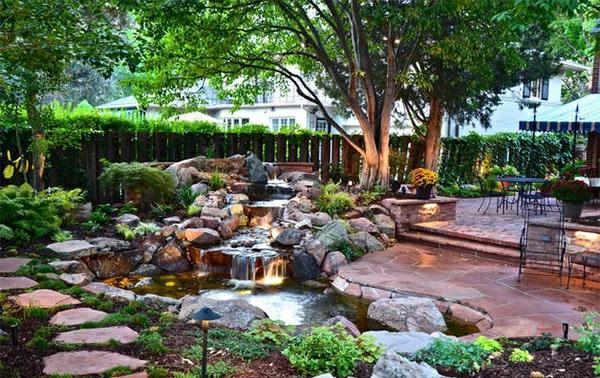 Gartenteich anlegen ideen f r eine kreative gartengestaltung - Gartengestaltung ideen mit natursteinen ...