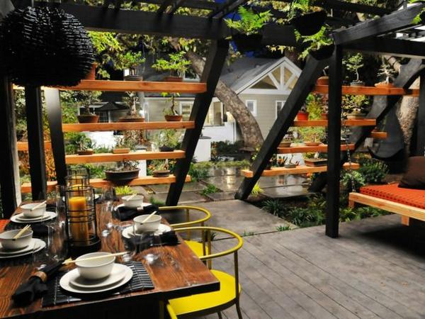 Wie kann man eine pergola selbst bauen anleitung und fotos for Gartengestaltung asiatischen stil