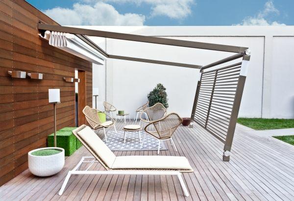 Gartenmobel Design Replica : garten ideen pergola metall terrassendielen holz gartenmöbel rattan