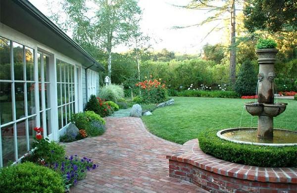 Garten Landschaftsbau Mit Ziegeln U2013 15 Tolle Gartengesteltung Ideen