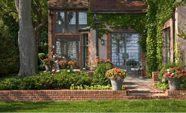 Garten landschaftsbau mit ziegeln 15 tolle for Garten gestalten blumen