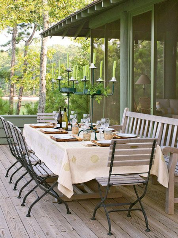 garten patio outdoor möbel gastronomie holz und metall