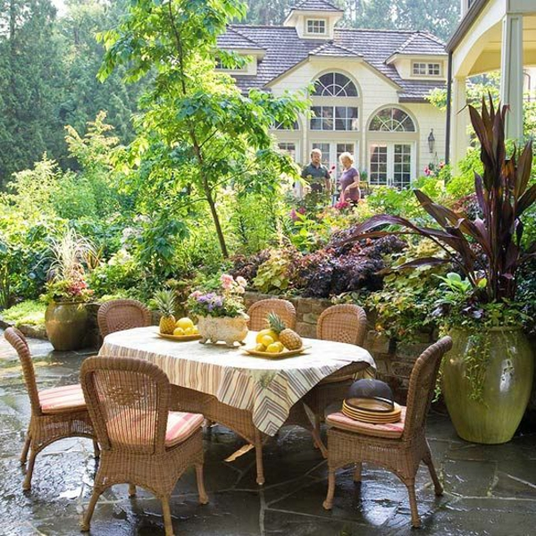 garten patio gastronomie outdoor möbel rattanmöbel esstisch