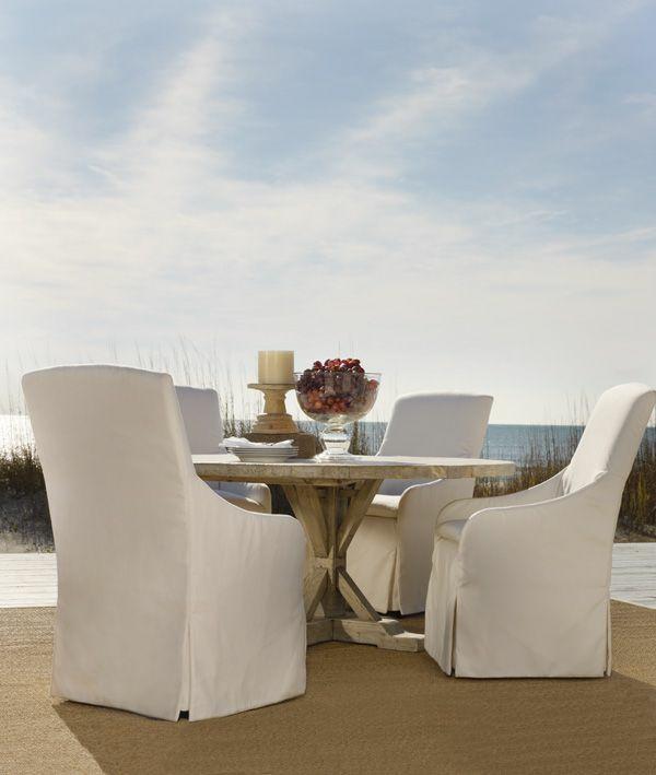 patio outdoor möbel gastronomie weiß
