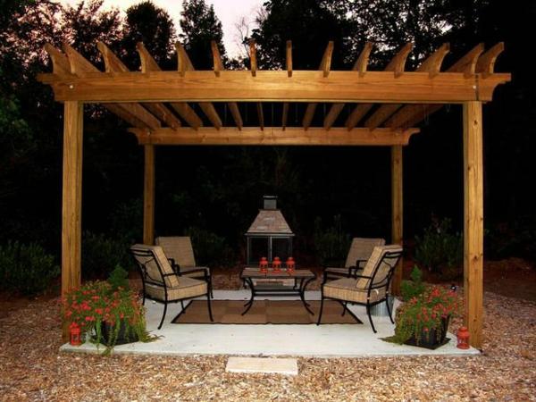 Garten Sitzecke Selber Bauen Fotos Wohndesign