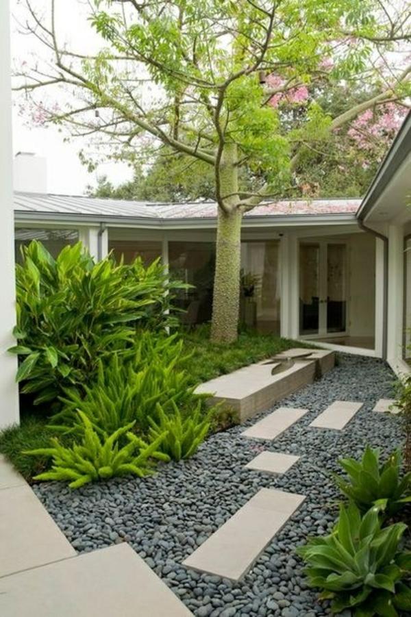 Wunderbar 103 Beispiele Für Moderne Gartengestaltung ...