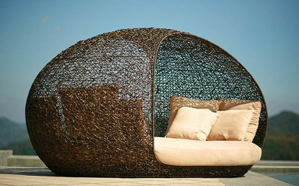 outdoor rattanm bel verwandeln ihren garten in eine paradiesecke. Black Bedroom Furniture Sets. Home Design Ideas