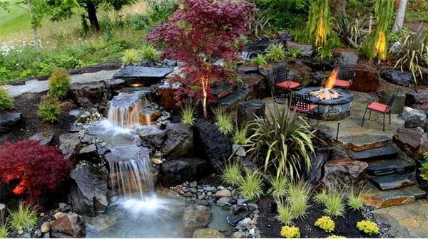 Gartenteich anlegen ideen f r eine kreative gartengestaltung for Gartenteich design