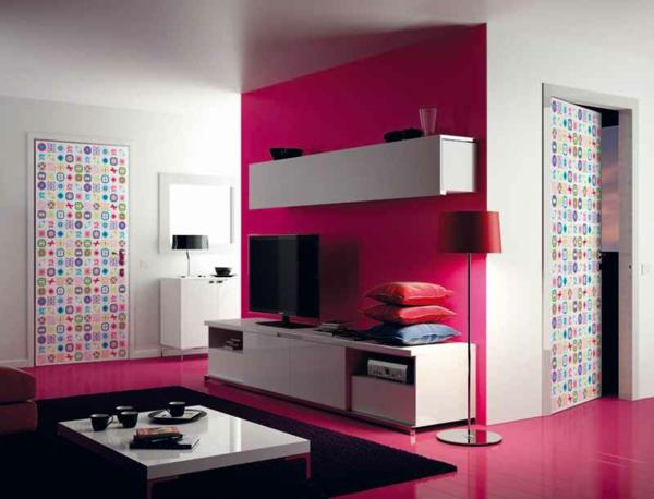 Zullian.com - ~ Beispiele Zu Ihrem Haus Raumgestaltung Dunkelgraue Wandfarbe Mit Muster