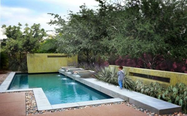 101 erstaunliche bilder von pool im garten - Pool im garten integrieren ...