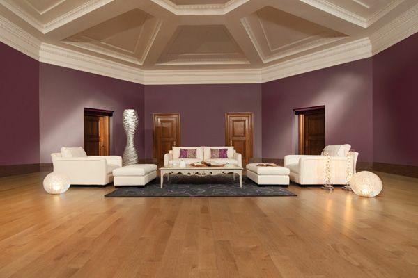 wohnzimmer farbideen - die verschidenen optikeffekte - Wohnzimmer Ideen Lila