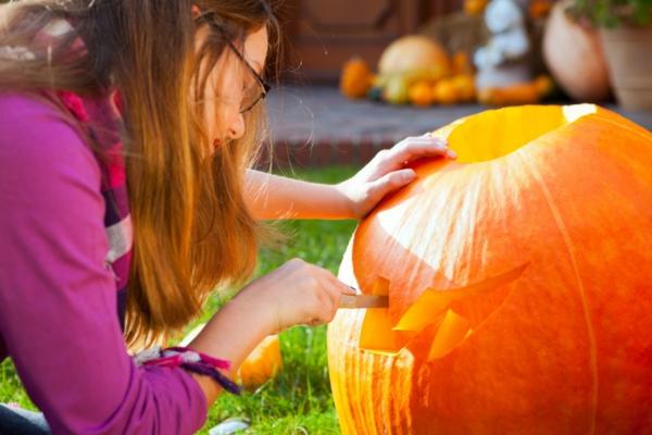 halloween deko ideen schnitzvorlagen
