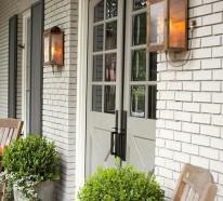 Accessoires und Beleuchtung für den Haustür Bereich