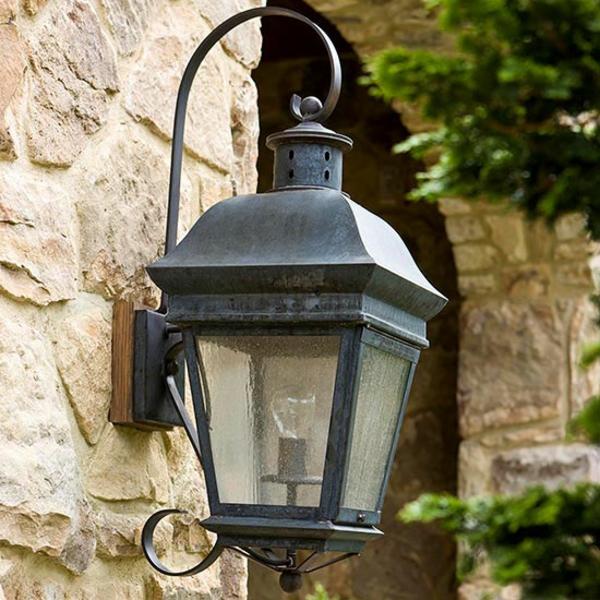 haustür dekoideen beleuchtung accessoires