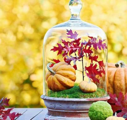 Herbstdeko Ideen Farbenfrohe Tischdeko Und Andere Bastelideen