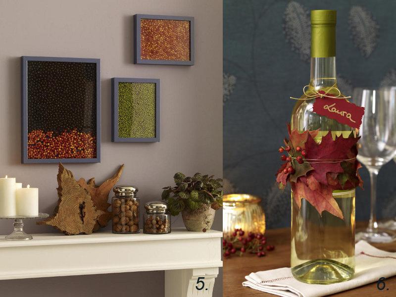 herbstdeko ideen farbenfrohe tischdeko und andere. Black Bedroom Furniture Sets. Home Design Ideas