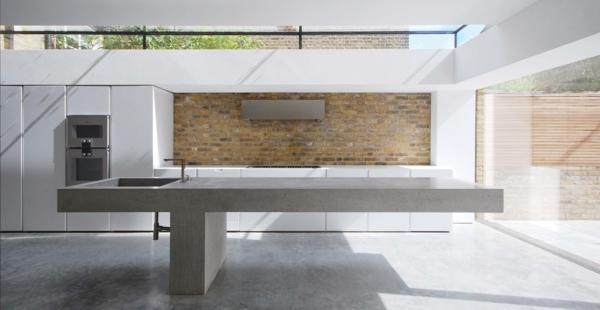 Hochmodern Beton Küchenarbeitsplatte Minimalistisch Originell