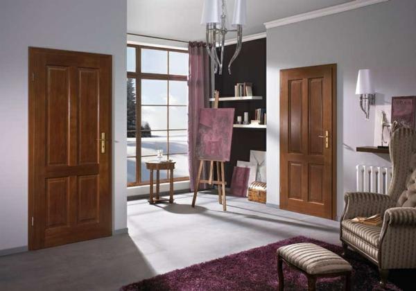 holztüren montieren Innentüren einbauen inneneinrichtung designer