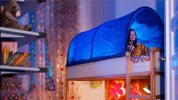 ideen für außerordentliche betten kinderzimmer design zeltbett